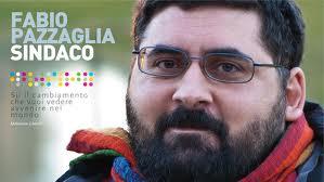 Fabio Pazzaglia quando nel 2011 si candidò a Sindaco di Rimini