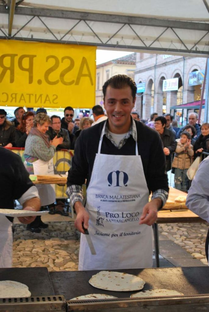Mauro Morri a Palio della Piadina 2009 Foto archivio Domenico Chiericozzi