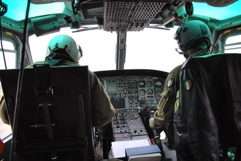 Elicottero del Corpo forestale. Foto www.lapiazzarimini.it