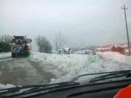 viabilità neve