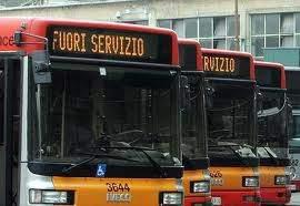 trasporto pubblico fuori servizio