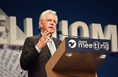 Mario Monti www.lapiazzarimini.it foto Meeting