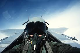pilota caccia