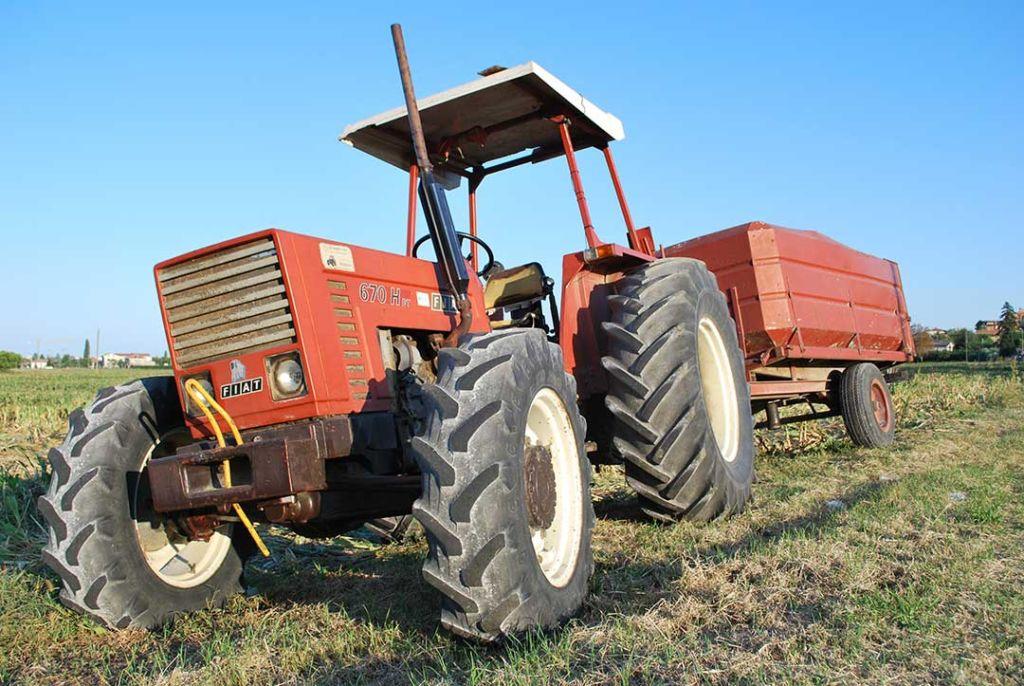 agricoltura trattore