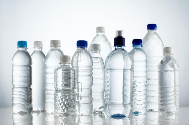 acqua bottiglie varie