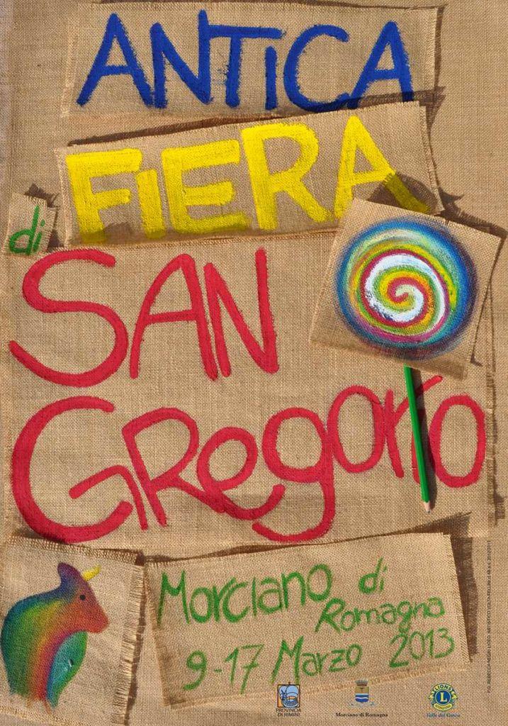 fiera di san gregorio 2013 Manifesto Negri Rebecca