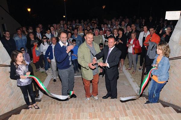 sanclemente inaugurazione_mura