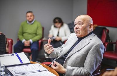 Rimini fiera conferenza stampa  con cagnoni
