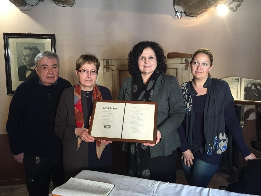 Pascoli ateo- fam Tonini Rimini Casa  Pascoli