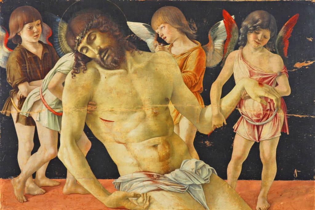 La Pietà del Bellini, uno dei capolavori del Museo