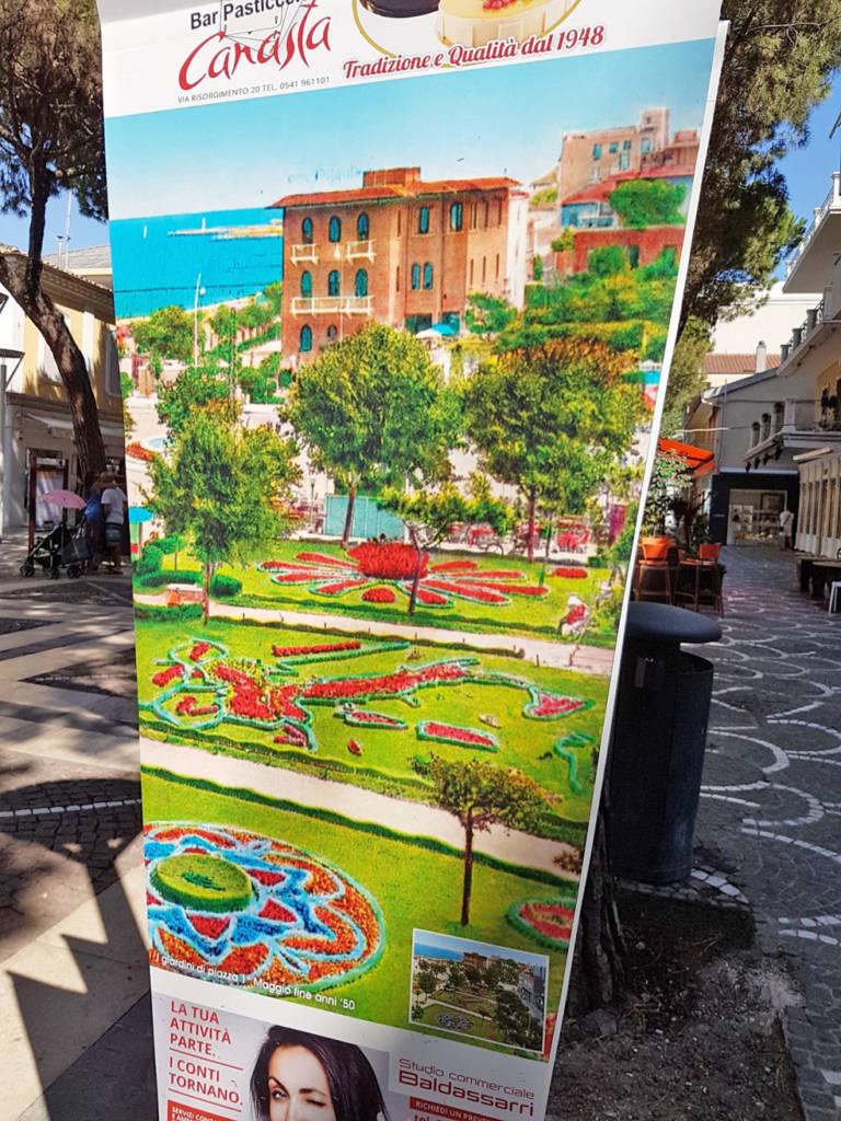Giardini di Piazza Primo Maggio realizzati da Aratari