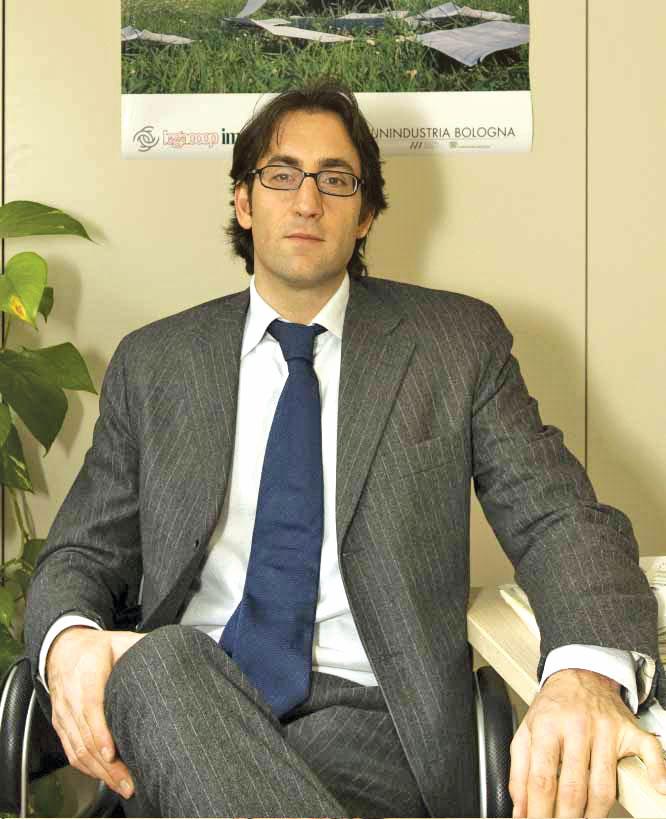 L'assessore Gianluca Brasini