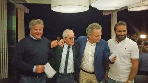 Da sinistra: Indino, Callà, Pizzolante e Greco
