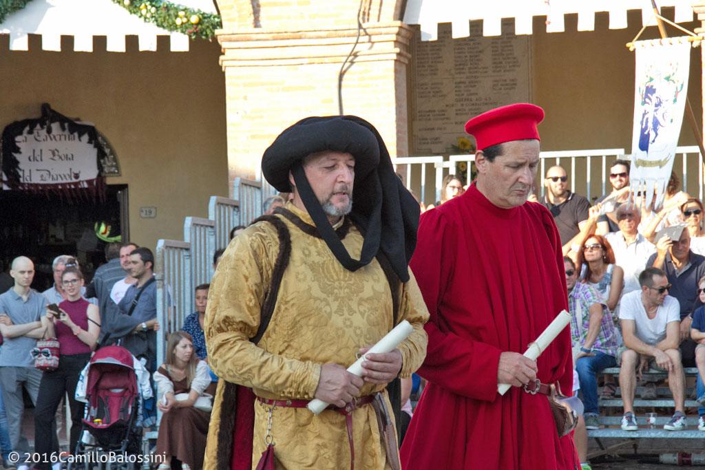 Federico da Montefeltro e Sigismondo Malatesta in corteo storico a Mondaino