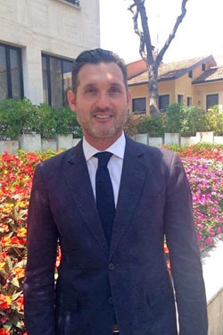 L'assessore Stefano Caldari