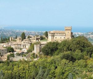 Gradara (Pesaro), il castello di Paolo e Francesca