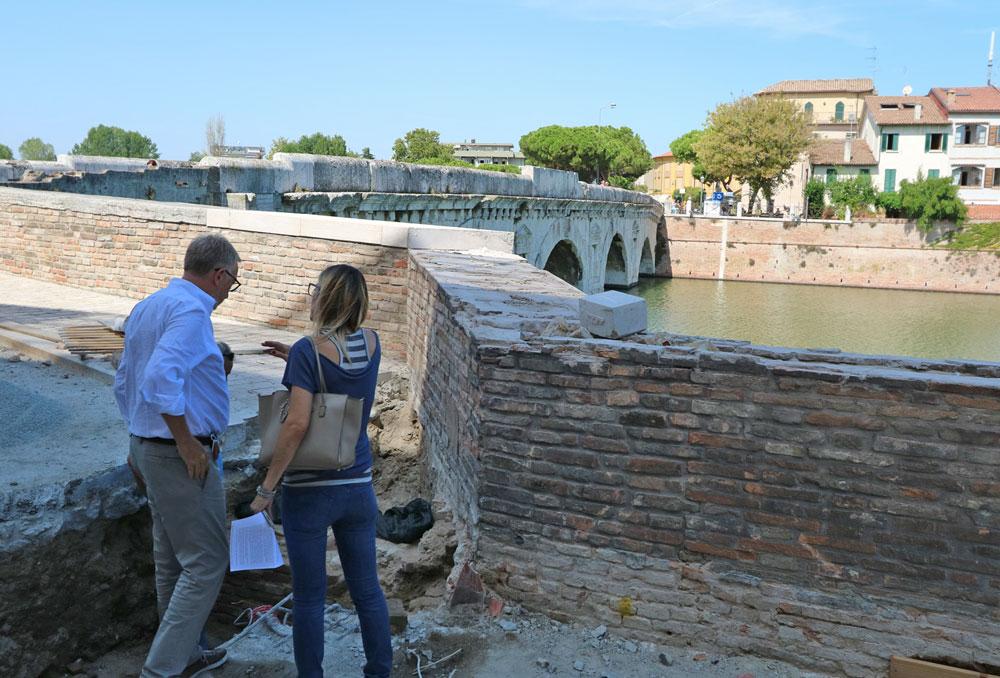 Rimini, il Ponte di Tiberio