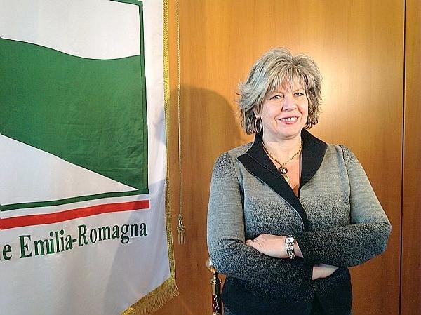 L'assessore Simona Caselli
