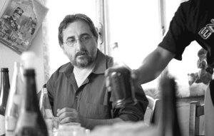 Lo scrittore riminese Michele Marziani