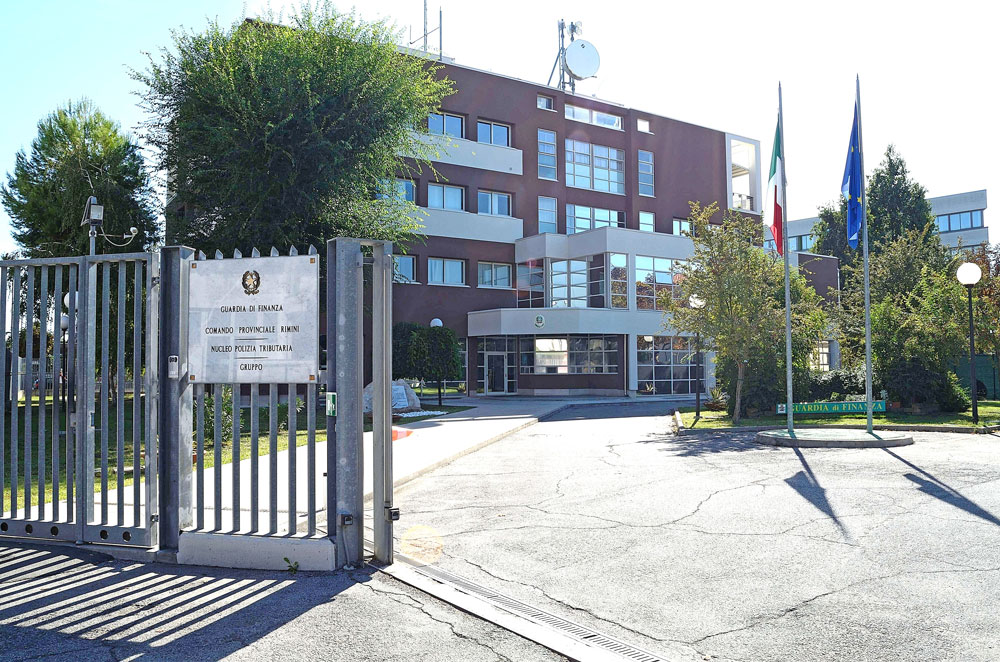 Rimini, comando della Guardia di Finanza